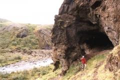 Glymur- okolice wodospadu