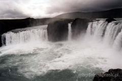 Go2afoss-wodospad Bogów przez pola lawowe Bar@ardur1