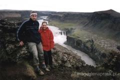Hafragilfoss - wodospad 27m
