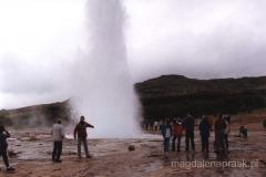 Haukadalur - Dolina geiserow