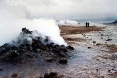 Hverarond - pole geotermalne - obok Namafjall