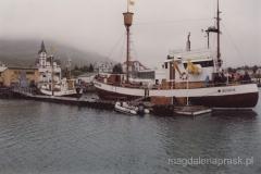 Husavik - przed rejsem na poszukiwanie wielorybów