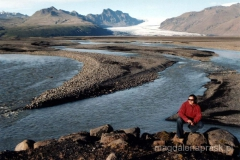 Jęzory lodowca Vatnajokull