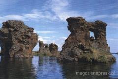 Kalfastrond - formacje skalne