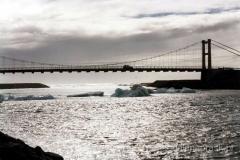 Breioamerkur - Jokull - laguna lodowcowa - most