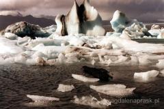 Jokulsarlon - lodowa plaża