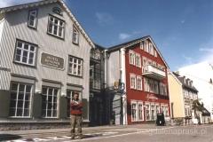 Reykjavik - stara zabudowa