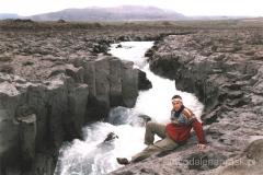 Rzeka Multa - wodospad Barafoss