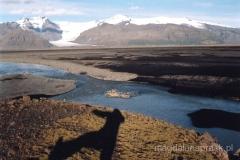 Sieć rzek przepływających przez Sandur