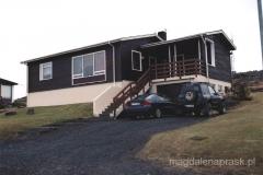 Typowy islandzki domek