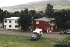 Typowy islandzki domek miejski