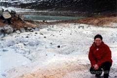 Viti - zmieniona gleba przez geotermalne parowanie