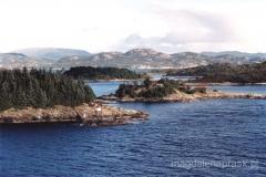 Norwegia - okolice Bergen - wybrzeże