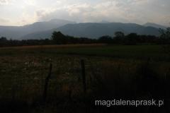 na horyzoncie Deravica - najwyższy szczyt Kosowa (2.656m npm)