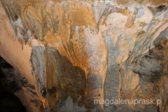 korytarze jaskini znane było już dawno temu - znaleziono tu ślady XVIII-wiecznych poszukiwaczy złota