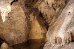wspaniałe formy krasowe Jaskini Bielskiej