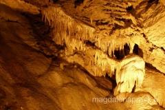 jedna z piękniejszych jaskiń na Słowacji