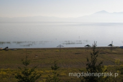 Jezioro Prespańskie o świcie