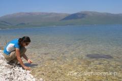 woda Jeziora jest bardzo czysta