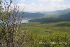 Jezioro Prespanskie ze stoków masywu Galicica
