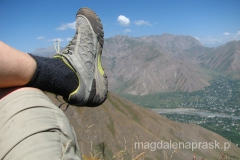 podczas górskiego spaceru - grunt to mieć wygodne buty!