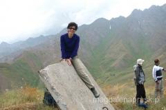 na jednym z bezimiennych szczytów stał ciekawy obiekt, na który nie omieszkałam się wdrapać