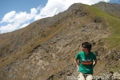 podczas górskiego spaceru