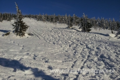 piękna zima w Karkonoszach