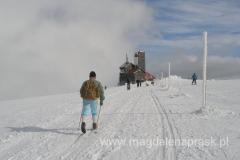 w pobliżu Śnieżnych Kotłów
