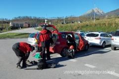 w Tatrzańskiej Łomnicy na parkingu przy kolejce linowej zostawiamy samochód