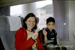 na czas kilkugodzinnej jazdy pociągiem dostałam dziecko pod opiekę