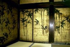 zwiedzając stary japoński dom