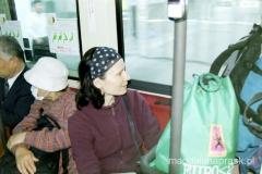w lokalnym autobusie