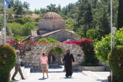 na terenie klasztoru