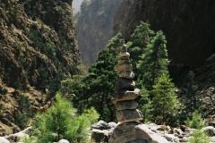 Wąwóz Samaria liczy ponad 18 kilometrów, z czego 16 udostępniono turystom
