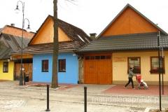 najstarsze domy w Krościenku