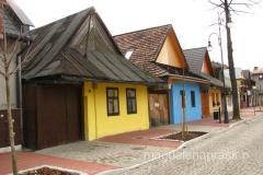 najstarsze domy w Krościenku z 1-szej połowy XIXw.