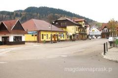 rynek w Krościenku nad Dunajcem