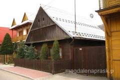 urocze domki drewniane w typie zabudowy uzdrowiskowej