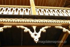 bogata dekoracja snycerska ganków