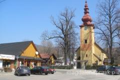 kościół Wszystkich Świętych - pierwotna budowla z 1350r.