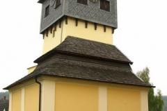 dzwonnica z XVIIw. przy kościele pw św. Bartłomieja w Czermnej oraz Kaplica Czaszek