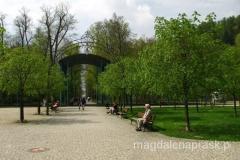 spacerując po Parku Zdrojowym