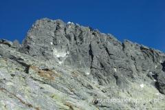 szczyt Łomnicy cały czas jest widoczny, ale droga tam nie jest taka oczywista...
