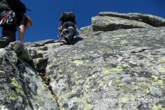 w drodze na szczyt Łomnicy