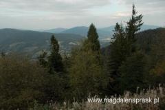 widoki ze szczytu Luboń Wielki