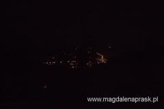 światła Mszany Dolnej ze szczytu Lubonia Wielkiego