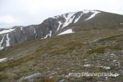 po raz pierwszy ukazuje się szczyt Magoro 2.255m npm