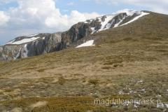 spojrzenie w tył na szczyt Magoro