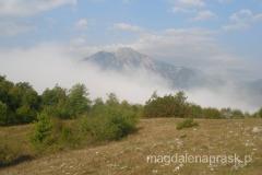 Góry Dynarskie o poranku
